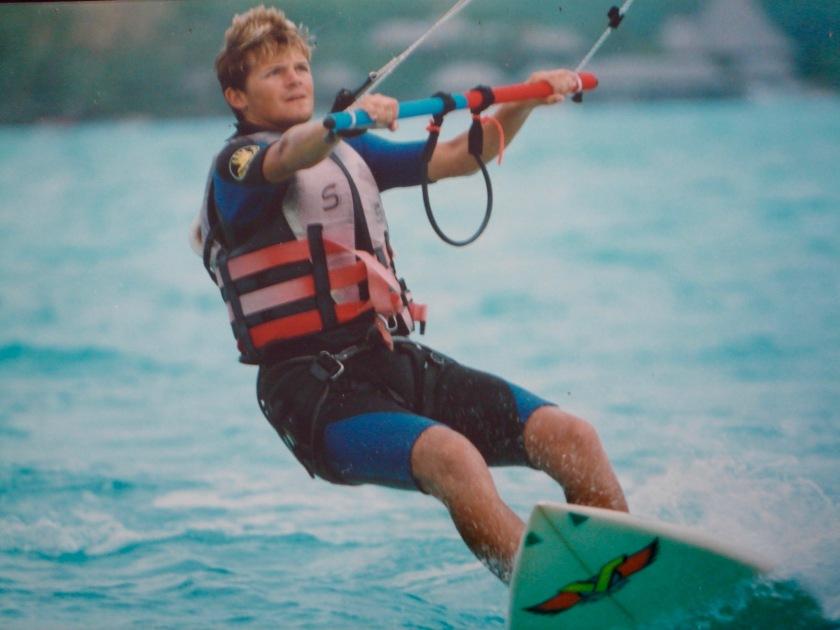 Joffrey Formont Kytesurfing in Borabora 3